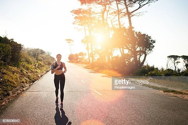 Get running for a full body burn