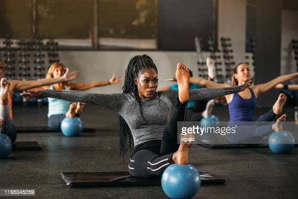 get your body in balance - sports training stock pictures, royalty-free photos & images