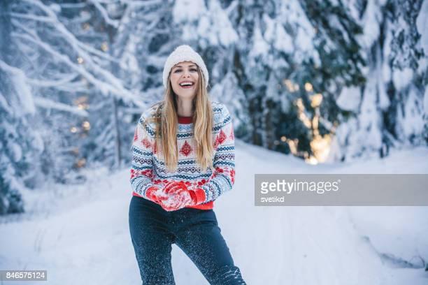 Bekommen Sie Ihre Schneebälle