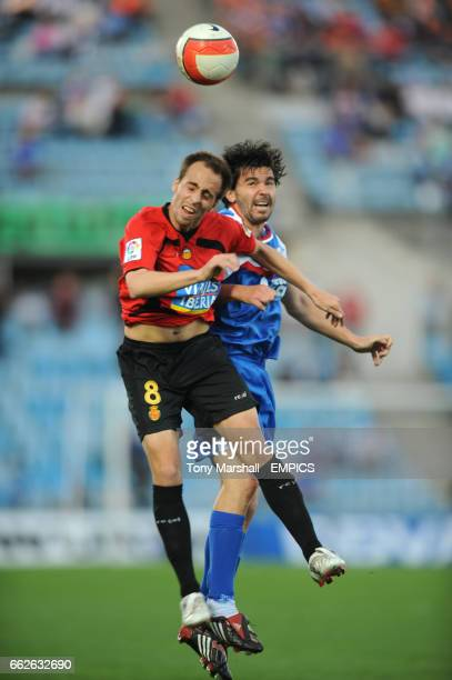 Getafe's Contra and Real Mallorca's B. Valero