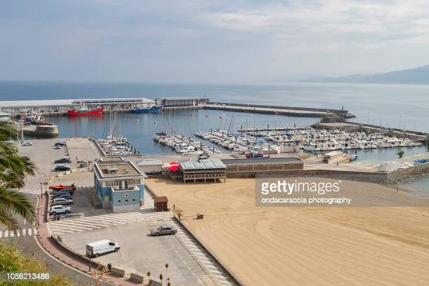 getaria fishing town in the coast of gipuzkoa province, spain - pais ストックフォトと画像