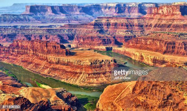 getaway from the city at dead horse point - dead horse point state park stock pictures, royalty-free photos & images