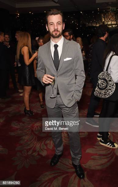 Gethin Anthony attends the Raindance Film Festival anniversary drinks reception at The Mayfair Hotel on August 15 2017 in London England