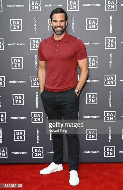Gethin Jones attends the Dazn x Matchroom VIP Launch Event at Kings Cross on July 27, 2021 in London, England.