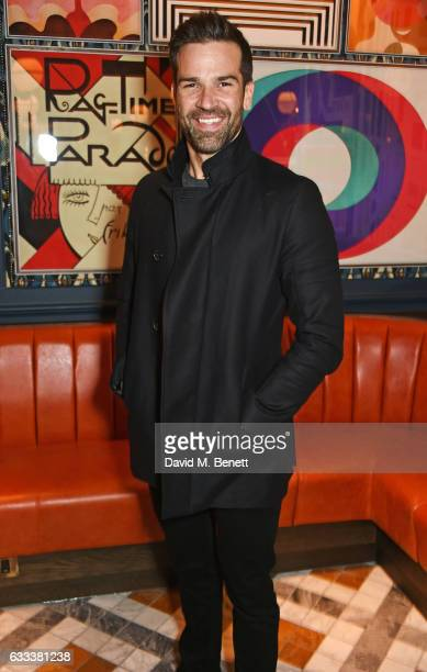Gethin Jones attends the InStyle EE Rising Star Party ahead of the EE BAFTA Awards at The Ivy Soho Brasserie on February 1 2017 in London England