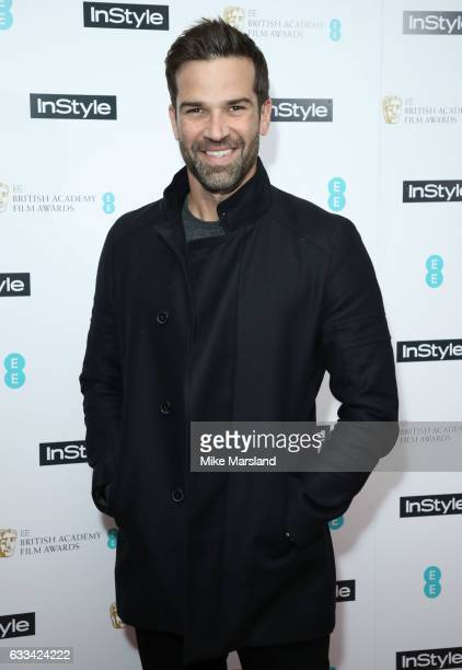 Gethin Jones attends the InStyle EE Rising Star Party at the Ivy Soho Brasserie on February 1 2017 in London England