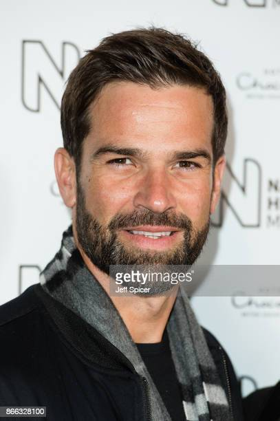 Gethin Jones during the launch of the Natural History Museum Ice Rink on October 25 2017 in London England