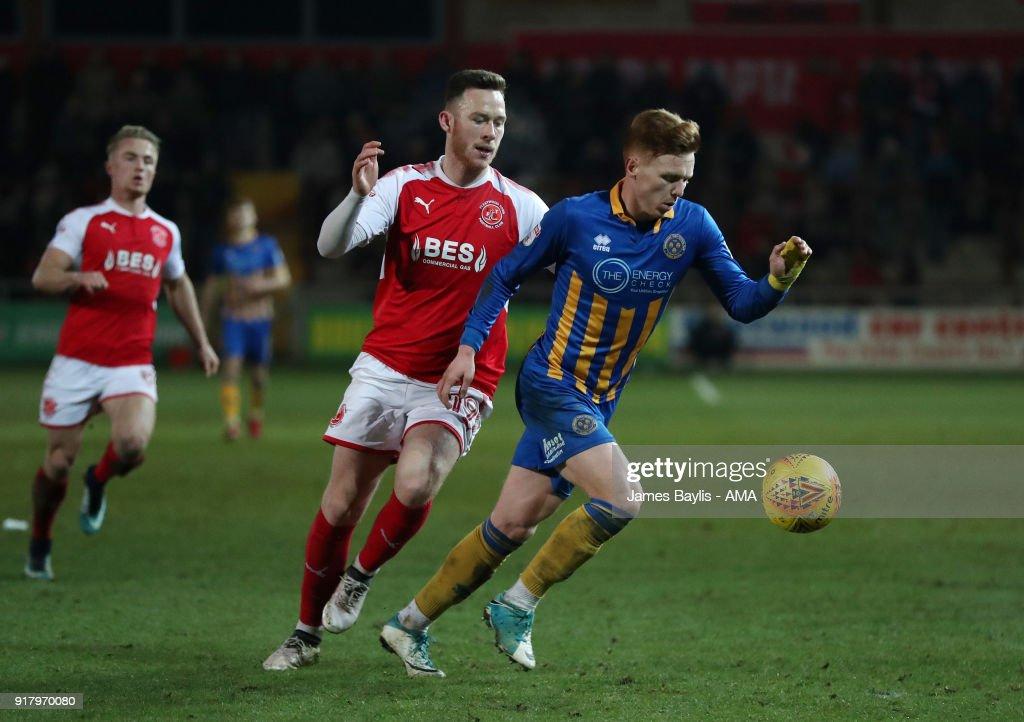 Fleetwood Town v Shrewsbury Town - Sky Bet League One
