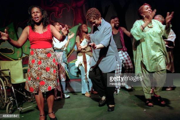 """Gethsemane Park, "" by the composer Carman Moore and the librettist Ishmael Reed, at the Nuyorican Poets Cafe on Thursday night, July 27, 2000.This..."
