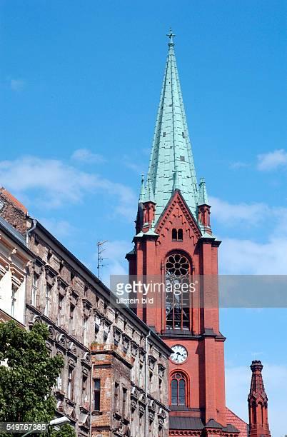 Gethsemanekirche in der Stargader Strasse zur Zeit der Wende wichtiges Zentrum des Widerstands auch nichtkirchlicher Gruppen