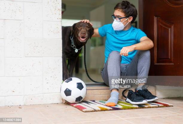 geting to go out and play soccer - football face mask stock pictures, royalty-free photos & images