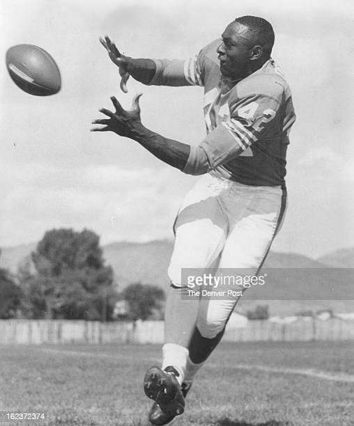 OCT 9 1965 Gets Big Chance Against Chiefs Odell Barry one of the fastest men in the American Football League gets his chance to start at flanker back...