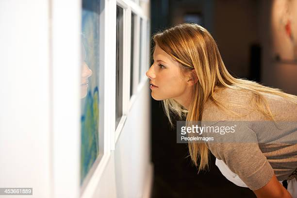 getting a closer look at the elements - art gallery stock pictures, royalty-free photos & images