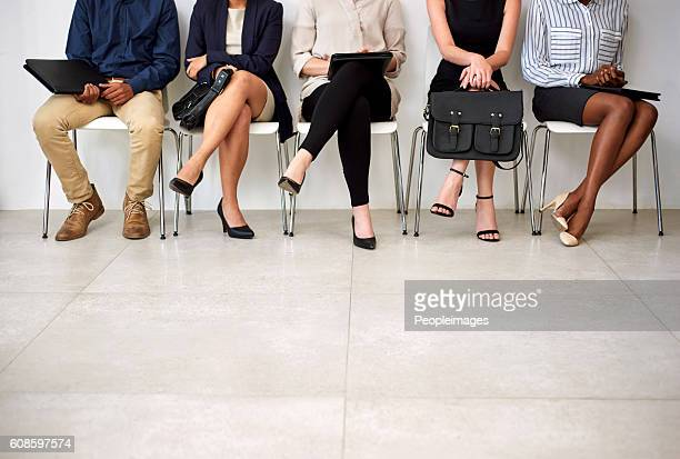 getting an interview is a foot in the door - recruitment stock pictures, royalty-free photos & images