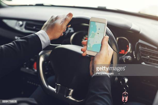 getting around with the help of technology - gps map stock pictures, royalty-free photos & images