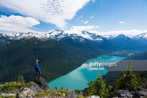 getting away from it all - whistler british columbia stock pictures, royalty-free photos & images