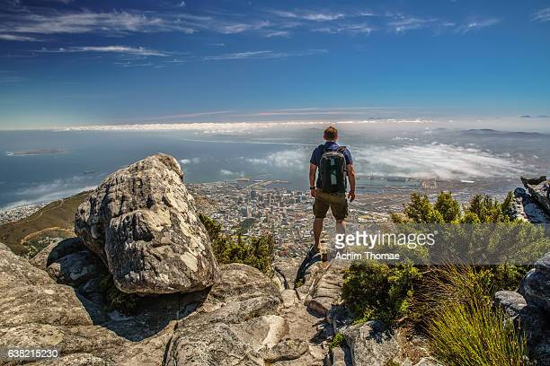 Getting away from it all, Table Mountain, Cape Town, South Africa