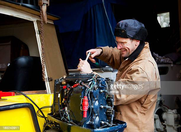 Getting boat engine ready for the season