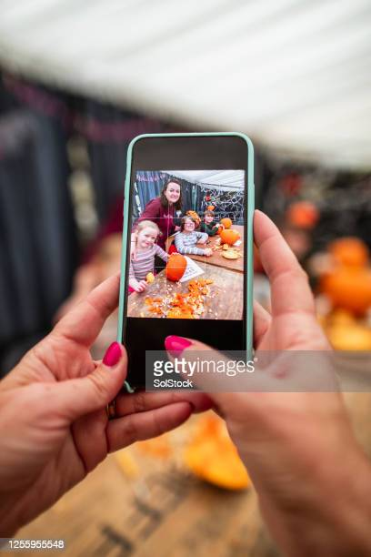 getting creative with pumpkins - carving craft product stock pictures, royalty-free photos & images
