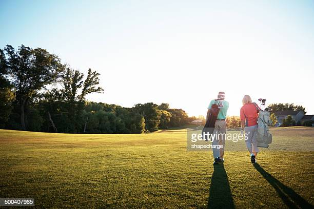 getting down to some golf - golf stock pictures, royalty-free photos & images