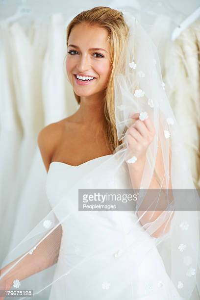 Getting excited for her wedding day