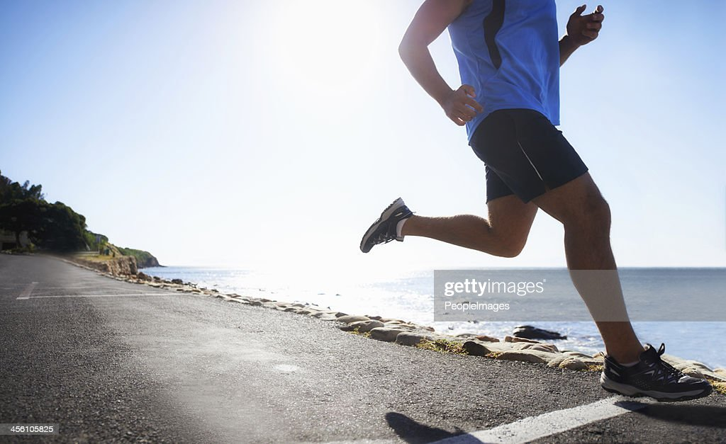 Getting fit for Summer : Stock Photo