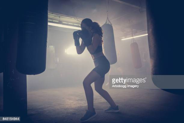 Getting fit with boxing