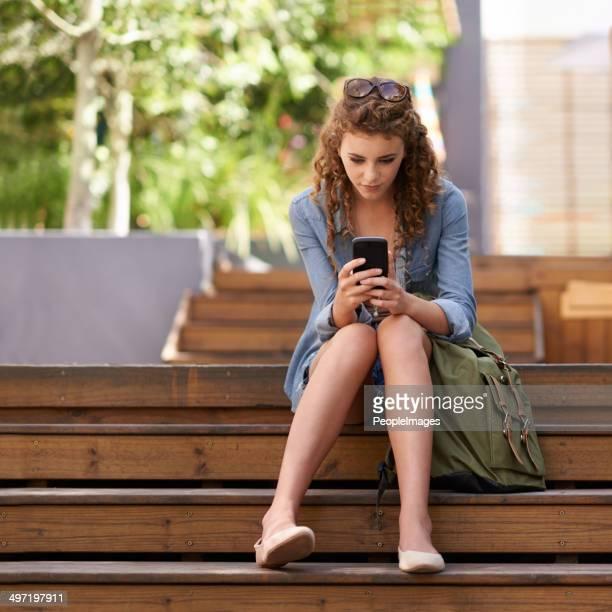 Wenn Sie Ihre tägliche Dosis sozialen Medien vor dem Kurs