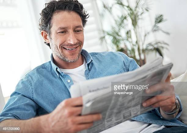 Man seine tägliche Dosis news