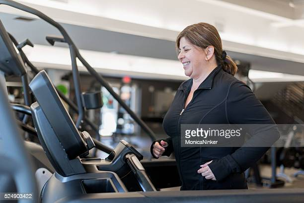 getting in shape - arab women fat stock pictures, royalty-free photos & images