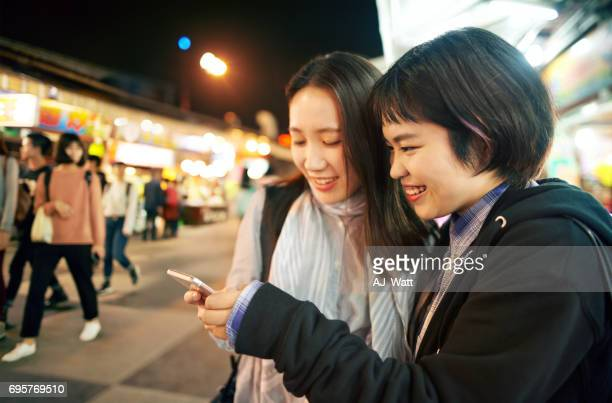 Getting more from the night market using smart apps