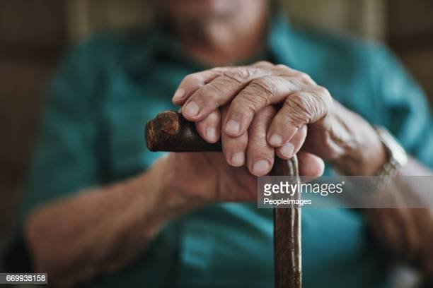 getting older can bring senior health challenges - old stock photos and pictures