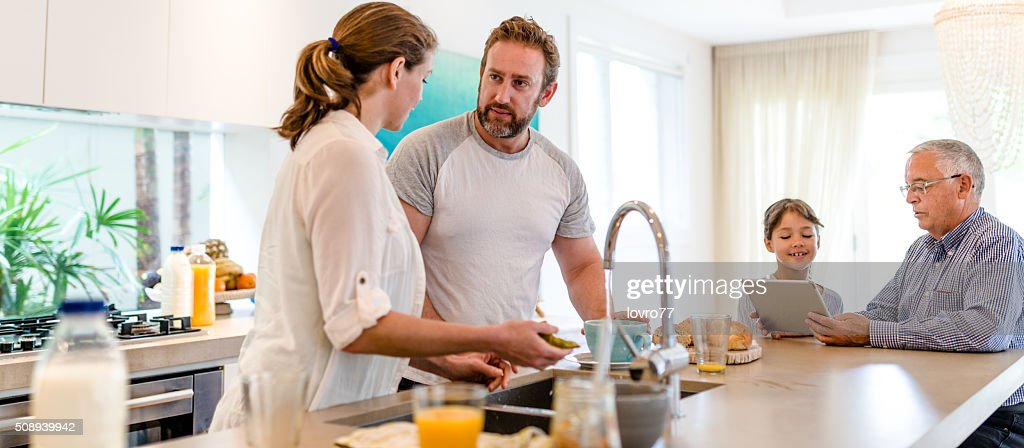 Getting prepare for lunch : Stock Photo