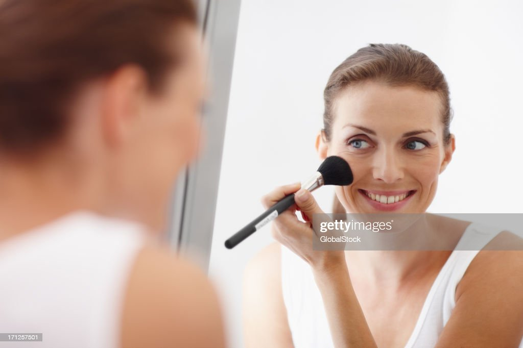 Getting ready for a night out! : Stock Photo