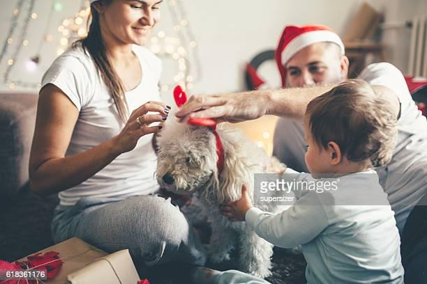 Arbeitsvorbereitung für Weihnachten