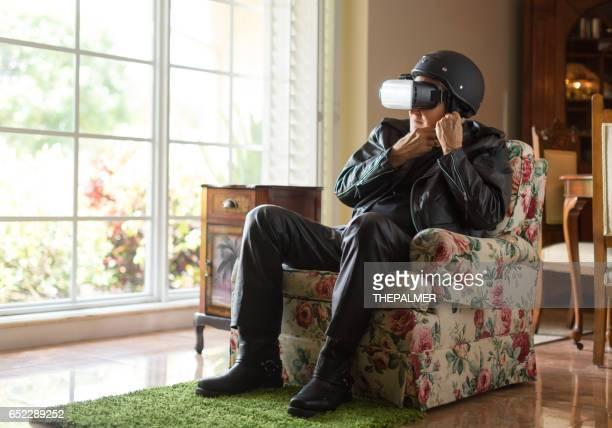 Immer bereit für die virtuelle Realität