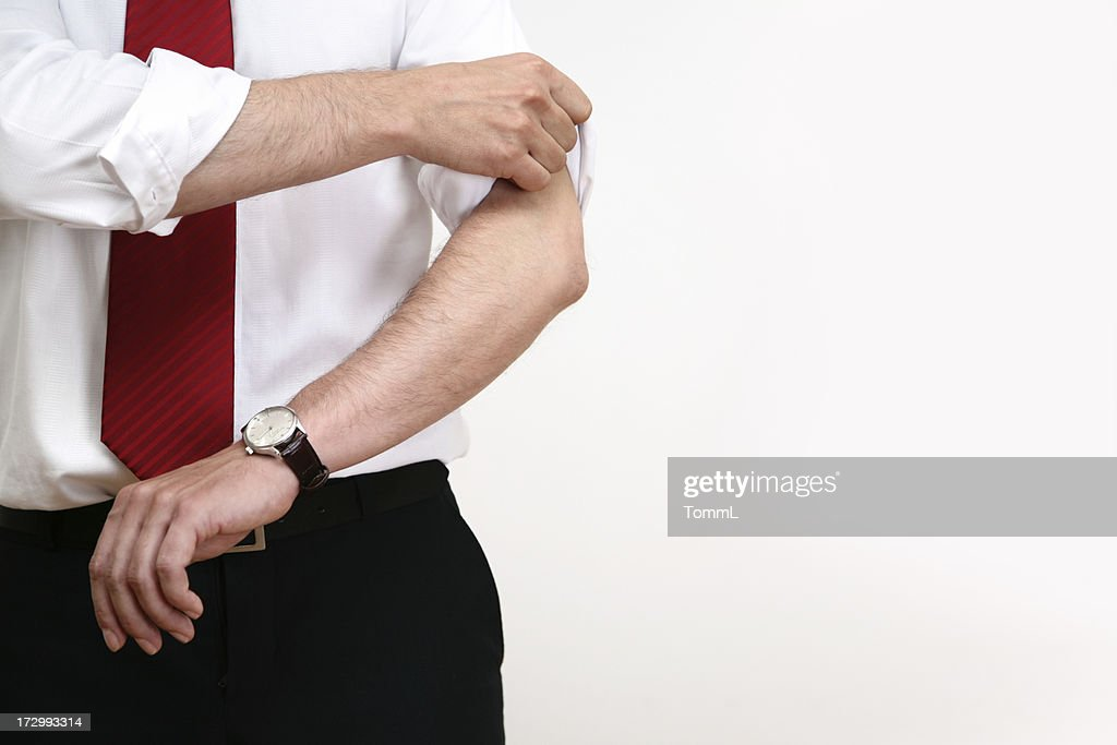 getting ready to work : Stock Photo
