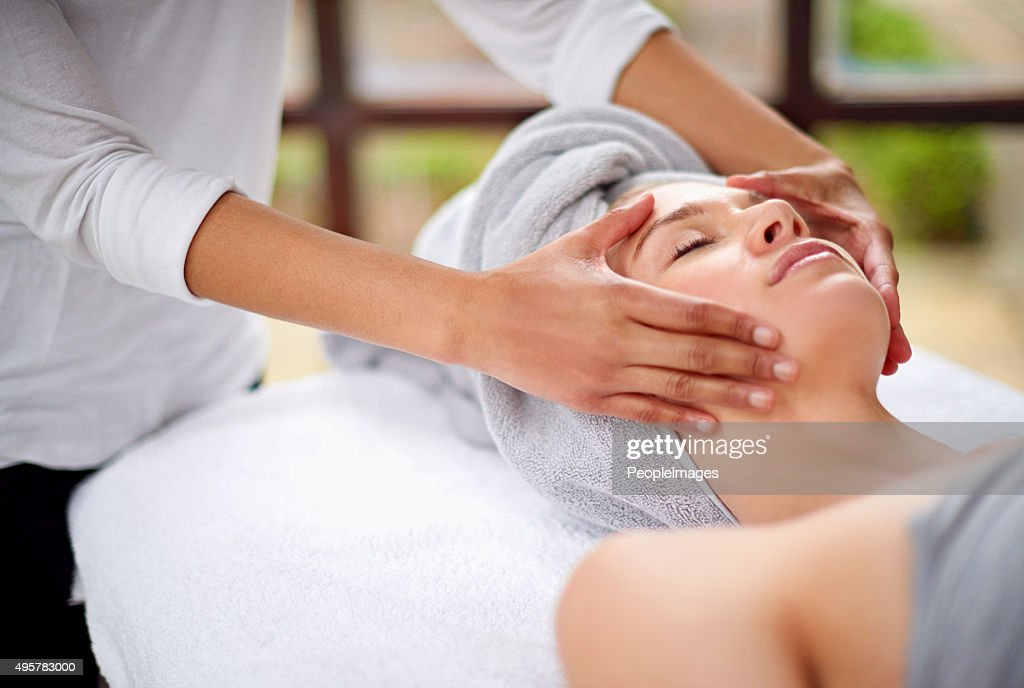 Getting rid of all the tension : Stock Photo