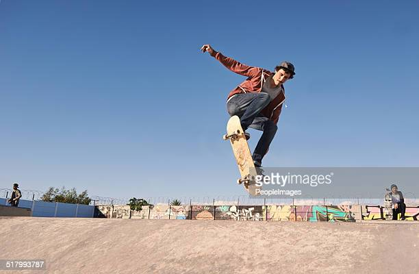 getting some air - skateboarding stock pictures, royalty-free photos & images