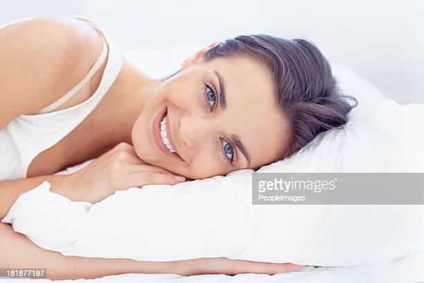 Gerade ihren Schönheitsschlaf