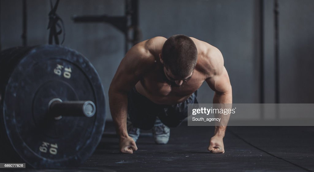 Getting stronger every day : Stock Photo