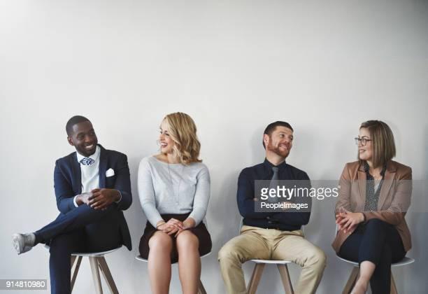 Krijgen van de gesprekken gestart voordat het interview