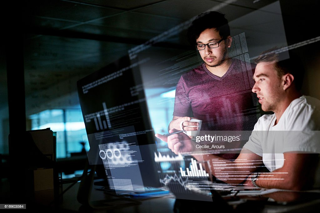 Getting the job done : Stock Photo