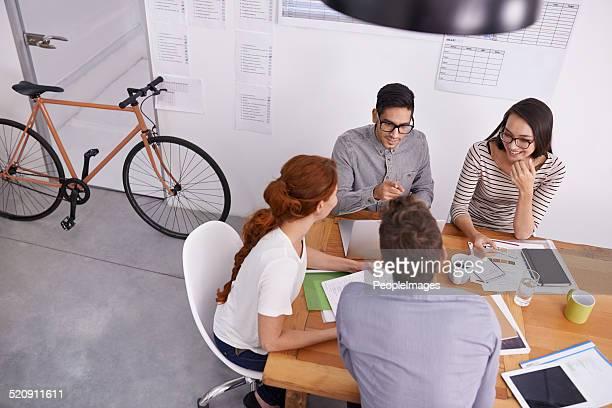 Wenn die Arbeit durch teamwork