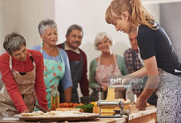 Obtener el plato de pasta RUEDAS