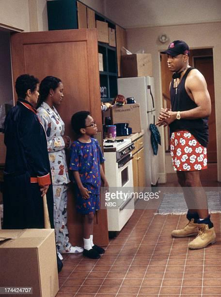 HOUSE Getting to Know You Episode 1 Pictured Debbie Allen as Jackie Warren Maia Campbell as Tiffany Warren Jeffery Wood as Austin Warren LL Cool J as...