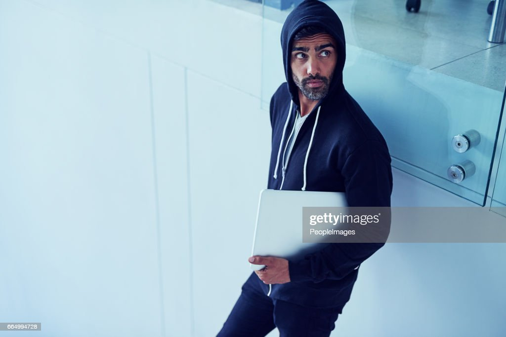 Getting up to no good : Stock Photo