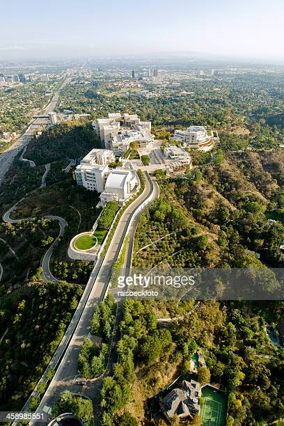 getty center in los angeles, california - j. paul getty museum stock pictures, royalty-free photos & images