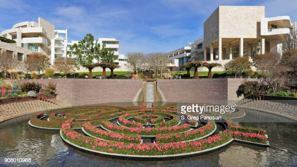 getty center - los angeles - j. paul getty museum stock pictures, royalty-free photos & images