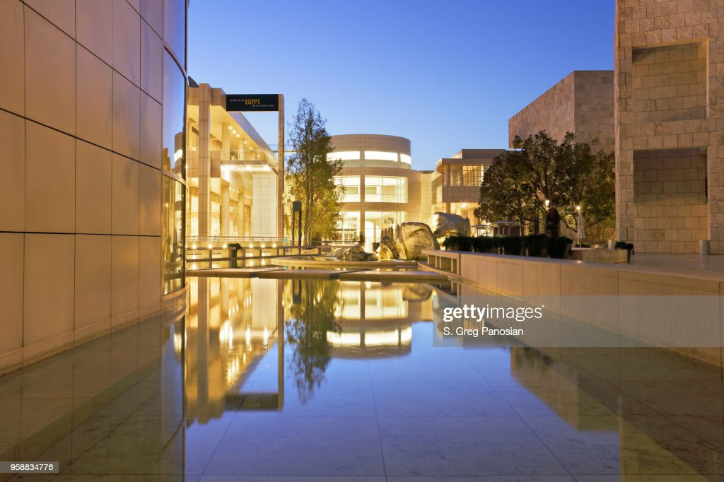 Getty Center - Los Angeles : Stock Photo